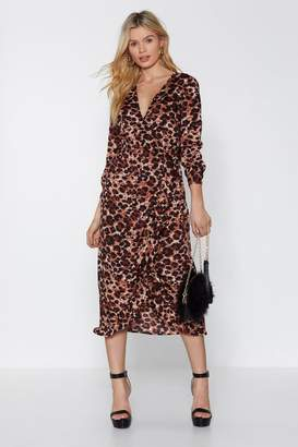 Nasty Gal Pur and Simple Leopard Dress