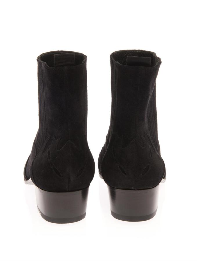 Saint Laurent Duckies western suede boots