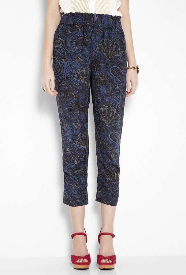 Marc by Marc Jacobs Mona Paisley Trousers