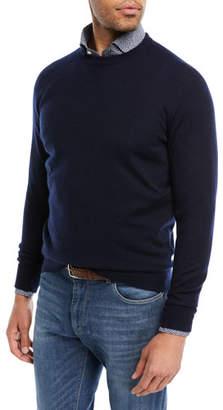 Peter Millar Crown Comfort Cashmere Sweater, Navy