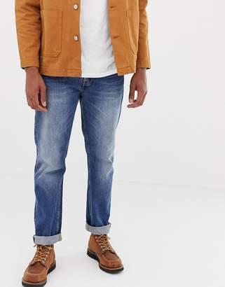 Nudie Jeans Sleepy Sixten loose tapered jeans