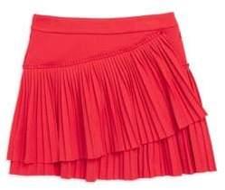 Lili Gaufrette Little Girl's Pleated Flare Skirt