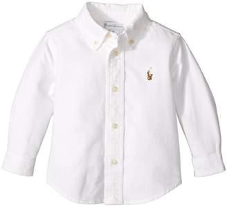 Ralph Lauren Cotton Oxford Sport Shirt Boy's Clothing