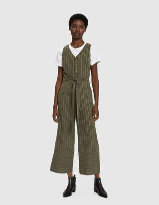 Farrow Olivia Striped Jumpsuit