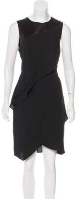 Halston Sleeveless Tiered Dress