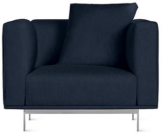 Design Within Reach Case Bilsby Armchair, Purple Fabric at DWR