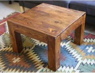 Millwood Pines Isaiah Cube Coffee Table Millwood Pines