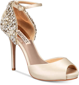 Badgley Mischka Vanity Embellished Evening Sandals