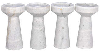 Lulu & Georgia Franca Candle Holders, Set of 4