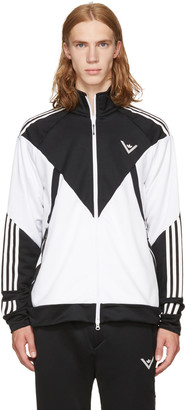 adidas x White Mountaineering Black & White Track Jacket $200 thestylecure.com