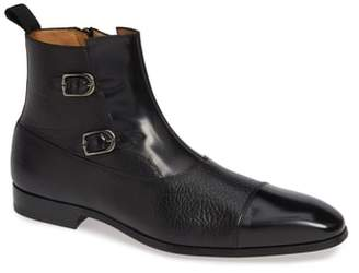 Mezlan Tracy Double Buckle Cap Toe Boot