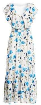 DAY Birger et Mikkelsen Borgo de Nor Carlotta Tie-Waist Maxi Dress
