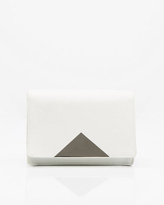 Le Château Leather-Like Flapover Clutch