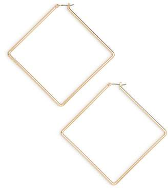 Kristin Cavallari Uncommon James by Girl Boss Square Hoop Earrings