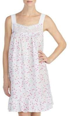 Eileen West Sleeveless Floral Chemise