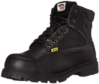 Avenger Safety Footwear Avenger 7300 Leather Safety Toe EH Internal Met Guard High Heat Outsole Work Boot