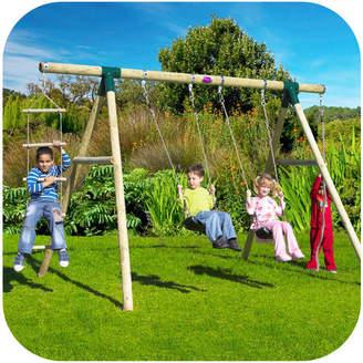 Plum Gibbon 4 Piece Swing Set