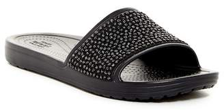 Crocs Sloane Embellished Slide Sandal (Women)