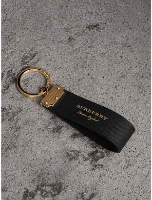 Burberry Trench Leather Key Ring
