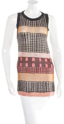Missoni Metallic Sleeveless Tunic