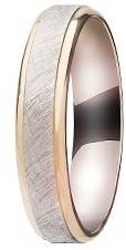 Grooms 9ct Gold Fancy Wedding Band