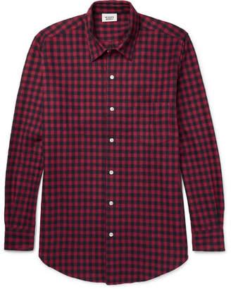 Sleepy Jones Noah Checked Cotton-Flannel Pyjama Shirt