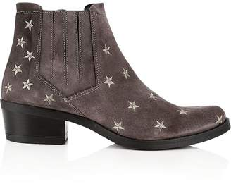 Kanna Kelly Star Ankle Boots - Grey