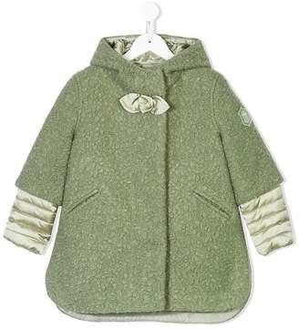 MonnaLisa faux-shearling coat with detachable liner