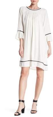 Velvet by Graham & Spencer Contrast Trim Dress