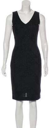 Couture St. John Metallic Sleeveless Dress w/ Tags
