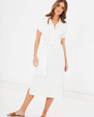 Aurella Button Front Dress