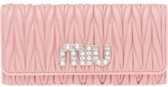 Miu Miu (ミュウミュウ) - Miu Miu キルティング長財布