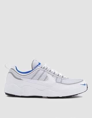 Nike Spiridon '16 Sneaker in White/White-Racer Blue