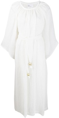Lisa Marie Fernandez pleated flowy beach dress