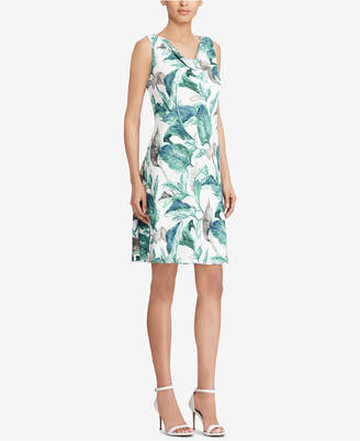 American Living Floral-Printed Georgette Dress