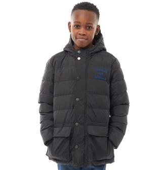 Franklin & Marshall Junior Boys Padded Jacket Black