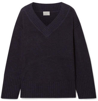 Jason Wu GREY - Cashmere And Wool-blend Sweater - Navy