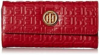 Tommy Hilfiger Debossed Large Flap Wallet