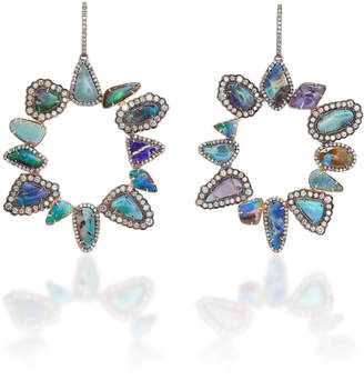 Kimberly Mcdonald Boulder Opal Frame Earrings