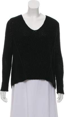 Helmut Lang Scoop Neck Knit Sweater