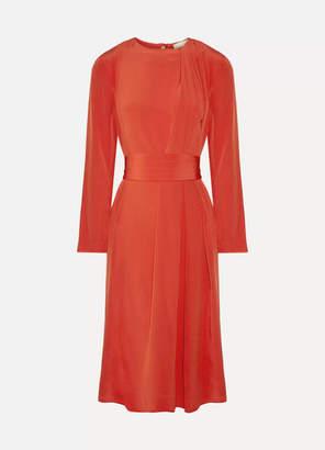 Vanessa Bruno - Hermance Silk Crepe De Chine Midi Dress - Red