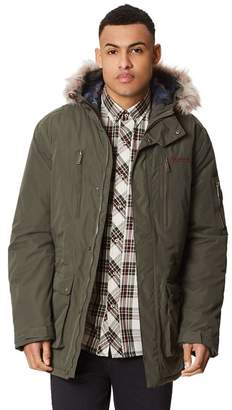 Regatta Green 'Salinger' Insulated Hooded Waterproof Parka