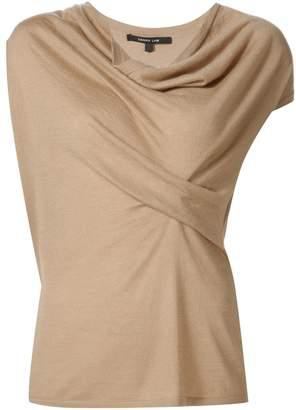 Derek Lam Iris Cap Sleeve Sweater