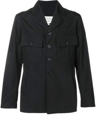 Maison Margiela double pocket shirt jacket