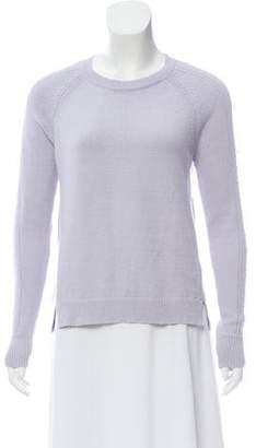 Rebecca Taylor Long Sleeve Crew Neck Sweater