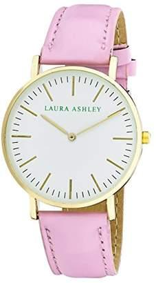 Laura Ashley Women's ' Quartz Metal and Polyurethane Casual Watch, Color:Pink (Model: LA31020PK) $45.13 thestylecure.com