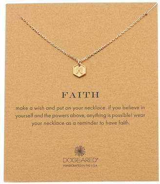 Dogeared Faith Angel Wing Pendant Necklace
