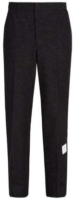 Thom Browne Straight Leg Denim Chinos - Mens - Navy