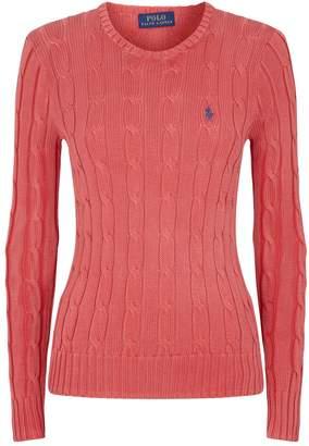 Ralph Lauren Julianna Cable-Knit Sweater