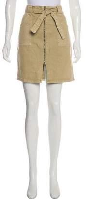Saks Fifth Avenue Denim Mini Skirt